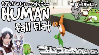 🐤Human Fall Flat × アクネッティ #03🐸